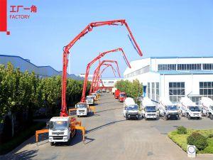 39m 붐 트럭에 의하여 거치되는 구체 펌프 트럭