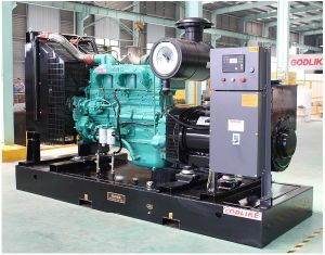 50Hz 188kVA/150kw gerador diesel para venda acionado por motor Cummins (GDC188*S)