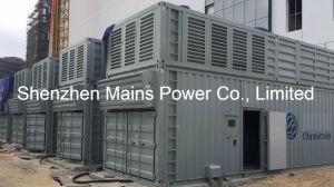 1800kw 2250kVAドイツMtuのディーゼル発電機のスタンバイの定格2000kw 2500kVA