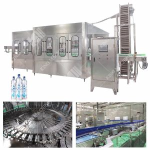 Completare la macchina di rifornimento pura dell'acqua minerale della bottiglia dell'animale domestico