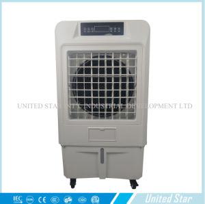 Portable Air axiale par évaporation de l'eau humidifié avec du miel Pads du refroidisseur