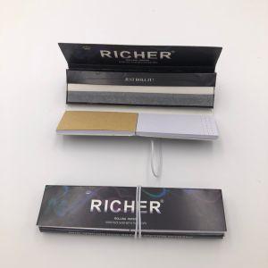 Papiers de roulement de fumage minces grands faits sur commande avec des extrémités de filtre