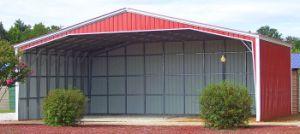 Prefabricados de estructura de acero de alta calidad de construcción Hangarage
