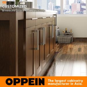 Canton Fair Empresas Cozinha Preço Razoável lacadas de armários de cozinha (PO17-L09)