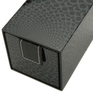 Caso de exibição do papel de vigilância de madeira de embalagem de Embalagem Caixa de jóias