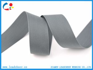 1개의  회색은 Microgroove 나일론 편평한 산업 가죽 끈 래치드 결박을 두껍게 한다