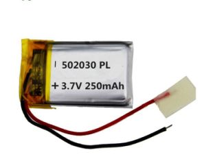 LED Flashlighting 건전지 3.7V 370mAh (TP552035) Li 중합체 건전지