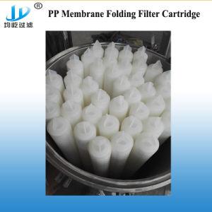 Membrana de PP o cartucho do filtro de dobragem