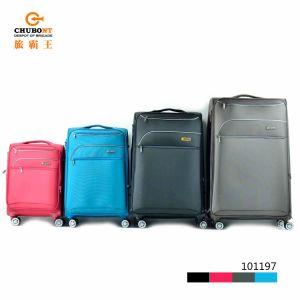4pcs Personalizar de nylon suave impermeable incorporada de viaje Maleta Trolleycase