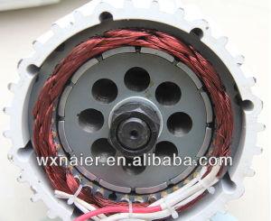generatore a magnete permanente di 2kw 48V con il regolatore