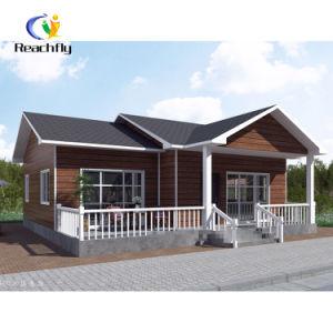 La construcción rápida de dormitorio doble bastidor de acero de la luz de la casa prefabricados