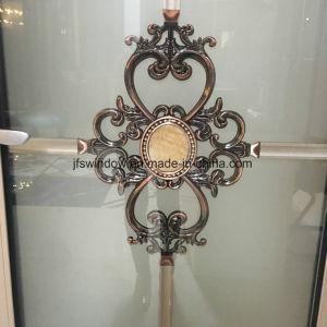 Низкая цена алюминиевый профиль стекла дверная рама перемещена распашной двери для ванной комнаты