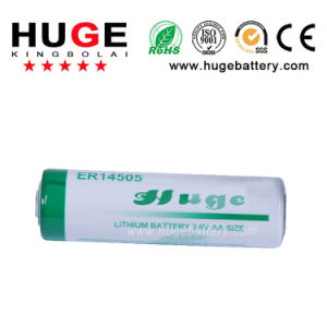 Li-Socl 3.6V AA2 batería seca Er14505