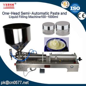Máquina de rellenar semiautomática para la crema (G1WGD) 100-1000ml