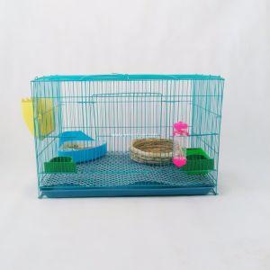 Gabbia di uccello all'ingrosso della maglia di colore rosa del metallo della Cina, gabbia del pappagallo