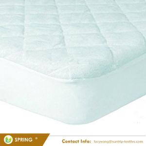 Pad Ultra-Soft impermeable cubierta de bambú de la hoja está equipado con una gran falda de 9 pulgadas protector de colchón de cuna