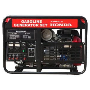 10kw 가솔린 휴대용 힘 Honda 발전기