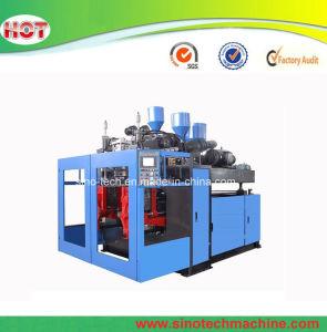 2L de maquinaria de soplado de botellas de plástico HDPE Botella de la máquina de moldeo por soplado automática