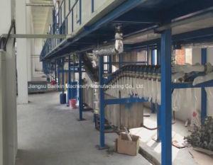 Luvas de látex de máquinas de inclinação da linha de máquinas de médicos para luvas
