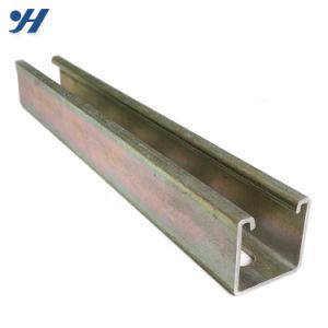 Los canales de acero para construcción