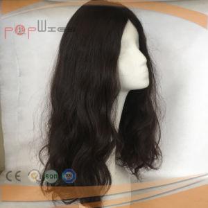 100%の人間の毛髪のレースのかつら(PPG-l-0838)