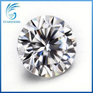 6.5Mm 1CT H&une découpe ronde GH Moissanite couleur en stock pour la vente de diamants