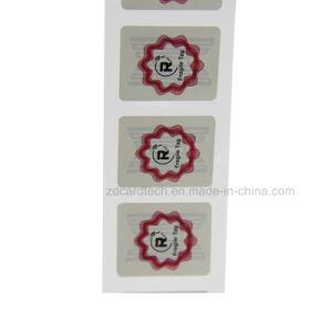 Pasivo EPC Gen2 auto adhesivo de seguimiento de la etiqueta RFID UHF PARABRISAS