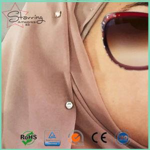 Cabeça de acrílico cores sortidas decorativas Stick Hijab os Pinos de Fixação