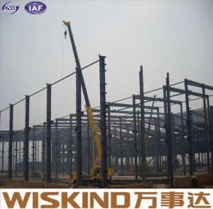 Marco del panel sándwich EPS Estructura de acero de almacén de materiales de construcción