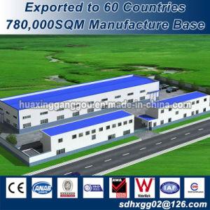 Magazzino della struttura del metallo del certificato dell'isolamento ISO9001 della parete