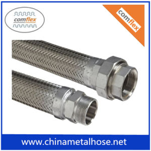 304 BraidedのCorrguated High Flow Flexible Metal Hose