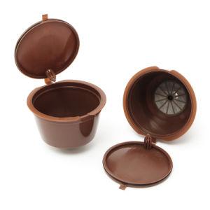 قهوة كبسولة مع [1بك] بلاستيكيّة ملعقة [رفيلّبل] قهوة كبسولة قابل للاستعمال تكرارا متوافق