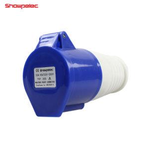 IP44 2p+Eはカプラーかコネクター16A 32Aを防水する