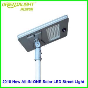 Todo exterior solar integrada en una calle luz LED 100W