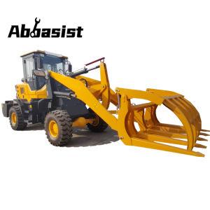 Abasist Al20b 2 Ton cargadora de ruedas con 4 en 1 cucharón