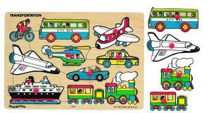 La Chine usine les animaux de zoo classique petit monde des jouets Puzzles en bois