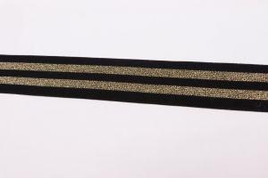 袋および衣服のアクセサリ(BSD-1821B)のためのきらめきの伸縮性があるストラップ