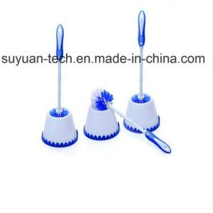 Spazzola più pulita di uso della toletta di plastica facile domestica di pulizia