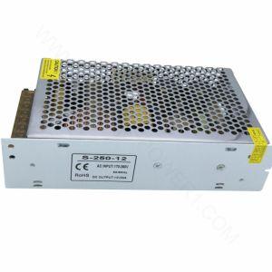 En el interior de 24V 250W Fuente de alimentación del controlador de LED para iluminación LED, conductor de luz LED de tensión constante