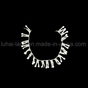Broderie florale de mariage le collier de la Dentelle accessoires de vêtements de tissu de soie