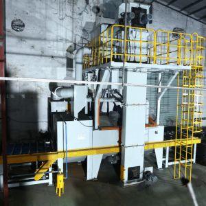 시멘스 PLC 통제와 자동적인 강철 탄 교류 벨브 통제를 가진 Mayflay 롤러 탄 폭파 기계