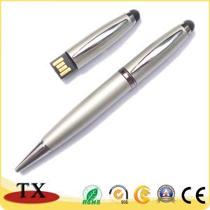 3 en 1 Promoción regalo empresarial USB USB Flash Drive USB Stick Pen plumas de la pantalla táctil Bolígrafo Pendrive USB USB Disk pen USB