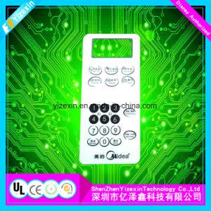 Yizexinポーランドカラーボタンの金属のドームキーボードオーバーレイ図形