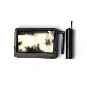 Micro mini cámara de inspección del tubo de inalámbrica de 2,4 Ghz de 5 pulgadas de Kit DVR Grabador de vídeo HD Monitor