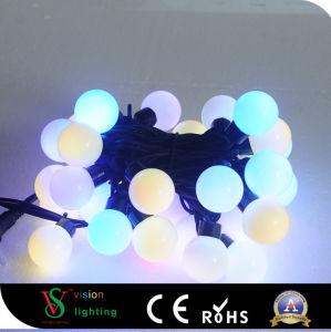 Decoración de Navidad luces de bola de cadena