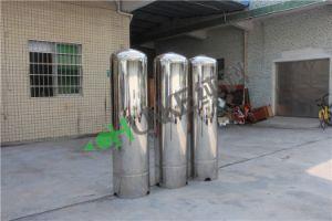 SS316 산업 모래 필터 시스템 물처리 공장