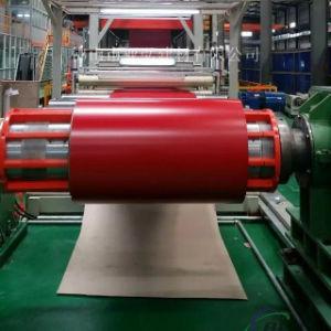 Il colore preverniciato rosso ha ricoperto la bobina/strato di alluminio per tetto