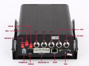 4CH 720p 4G GPS Tracker Mobile HD DVR комплект с монитора для материально-технического обеспечения
