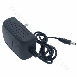 12V 1.5A AC/DC Adaptador de alimentación, viajes el enchufe del cargador de LED de alimentación, adaptador de alimentación de conmutación con Ce RoHS de luz LED/monitor/pantalla/Strip...