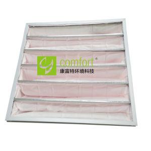 F7 Filter van de Zak van het Aluminium van Galavnized de Synthetische